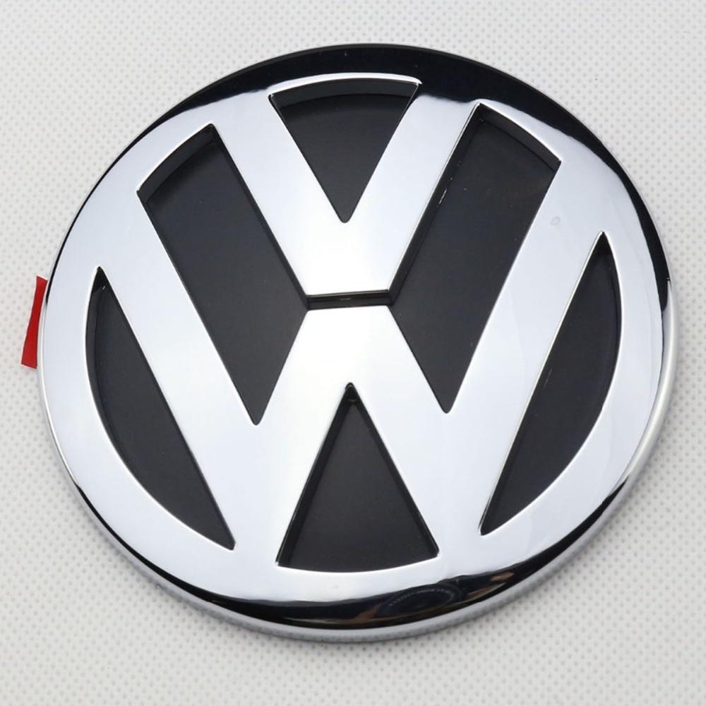OEM Chrome Badge Logo 1K5853630FCS Rear Trunk Lid Emblem for Volkswagen VW Jetta MK5 2006-2012 soarhorse car rear trunk lid emblem badge nameplate decal for chevrolet cruze letters logo sticker