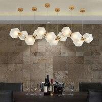 Livewin современный светодиодный Открытый Подвесные Светильники золото висит Кухня Освещение hanglamp фойе avize Столовая Подвеска светильник
