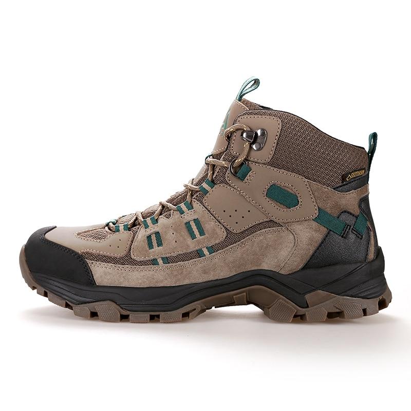Мужская и женская альпинистская обувь; Короткие Водонепроницаемые ботинки с амортизацией и износостойкостью; зимняя теплая Уличная обувь - 2