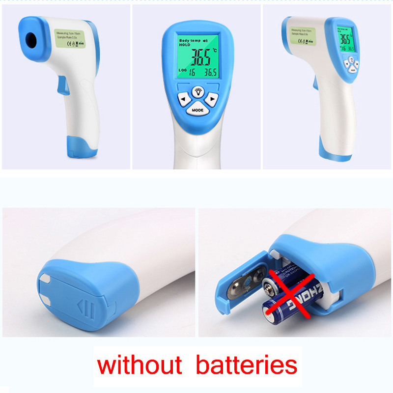 Digital Thermometer Infrared Baby Adult Forehead Non-contact Infrared Thermometer With LCD Backlight Bestselling