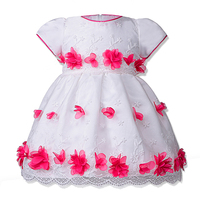 BAOHULU Flowers Girl Dress for 6 12 24 Months Floral Baby Girls Dresses Wedding Vestidos Party Birthday Costume Children Clothes