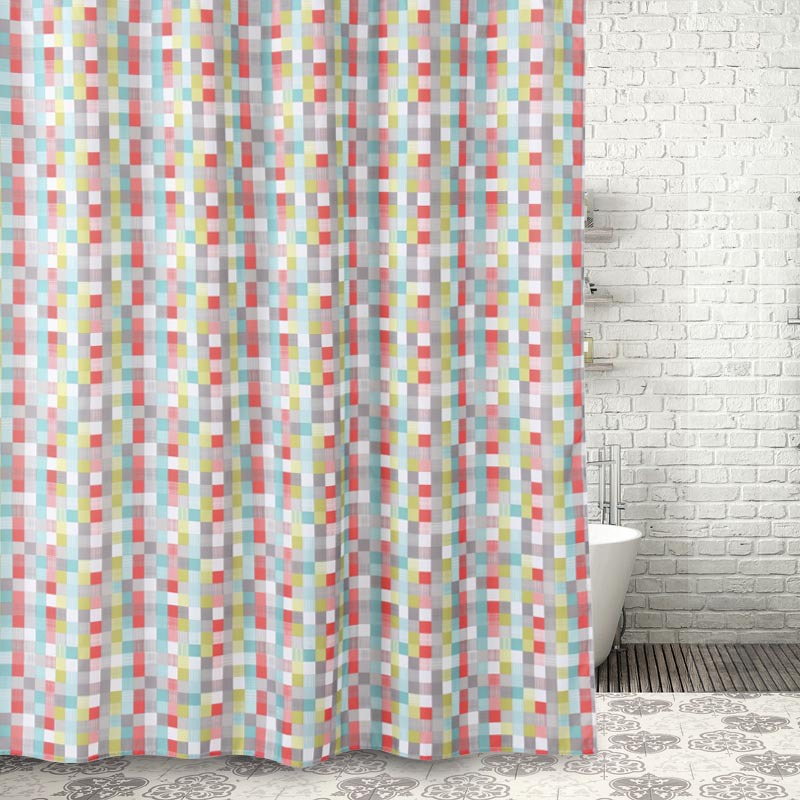 SunnyRain 1 Piece Europe Style Geometrical Thick Shower Curtain Water  Resistant Large Size Bath Curtain 180x180CM In Shower Curtains From Home U0026  Garden On ...