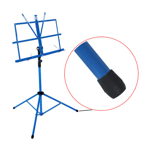 Hot Sale Foldable Lightweight Metal Material Sheet Music Stand Holder with Waterproof Carry Bag Islamabad