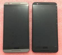 Negro o de oro pantalla lcd + el panel de tacto digitalizador con marco para htc one e9s e9st e9sw td-lte (no para E9) envío gratis