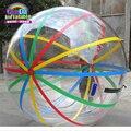 Guangzhou fabricante produz preço barato jumbo inflável bolas de água para venda