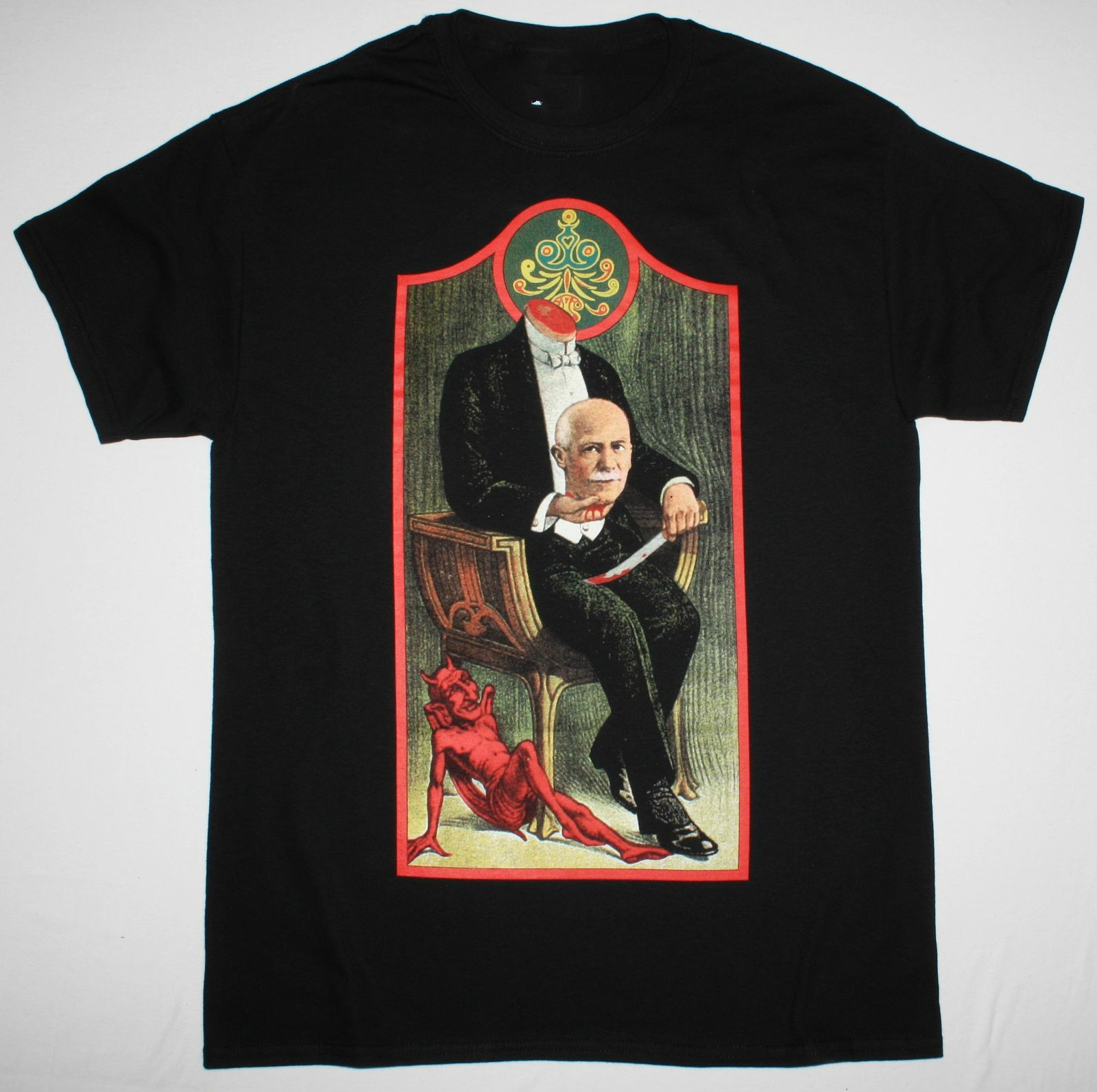 MR BUNGLE R.I.P. FAITH NO MORE FANTOMAS MIKE PATTON TOMAHAWK NEW BLACK T-SHIRT Short Sleeves Cotton T-Shirt Fashion