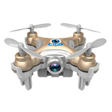 Hot CX-10 CX-10W 2.4G HD Camera FPV Drones RC WIFI Real-time Transmission 6 Axis Helicopter Hobby Mobile Control Mini Arieal