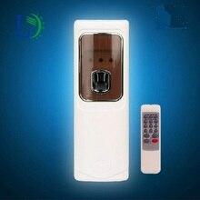 Автоматический светодиодный аэрозольный парфюмерный распылитель с дистанционным управлением, освежитель воздуха, настенный аэрозоль для отеля, 300 мл, банка для ванной комнаты, туалета