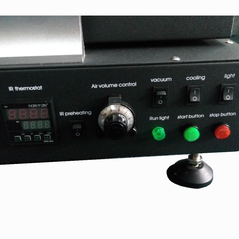 220 В горячий воздух и инфракрасный Подогрев паяльная станция Honton HT-R392 с подвижным держателем печатной платы Обновление от HT-R390
