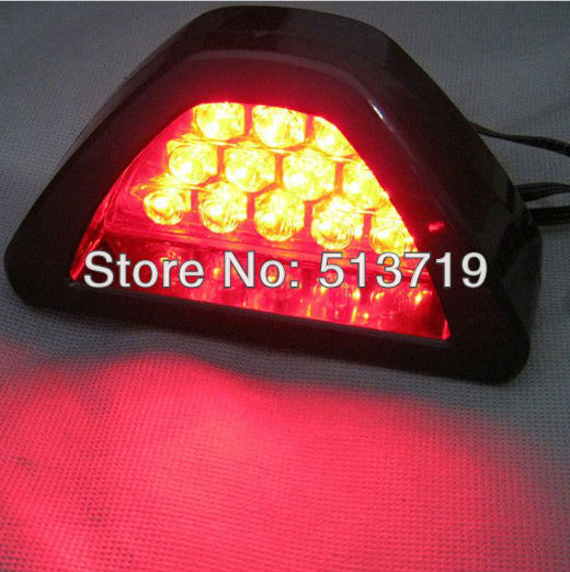 10X Auto F1 12 LED Rear Brake Lamp Brake Light Flashing Strobe For All Car Vehicles