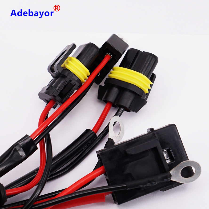 1 piece H7 Car HID Xenon Conversion Harness Fuse Relay Wire Wiring Vehicle parking ngk chapters hoops