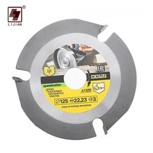 115/125mm 3 Teeth Circular Saw Blade Multitool Disc Carbide Tipped Wood Cutting Machine Electric Grinder Power Tool Accessories стоимость