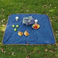 Waterproof Outdoor Picnic Beach Camping Mat Camping Tarpaulin Bay Play Mat Plaid Blanket bag