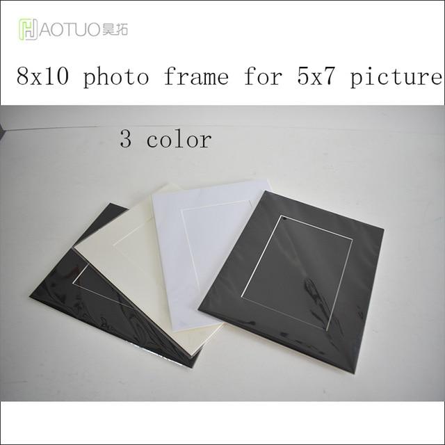 HT 45 Degree Bevel Cut Acid Free Cardboard Easel Mat 8x10\