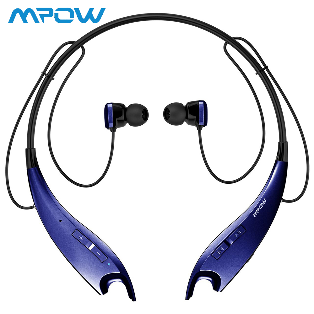 Mpow Jaws Bluetooth V4.1 Headphones Wireless Neckband Headset 4 Colors Fashion Neck Halter Earbuds Real HiFi Stereo HeadphonesMpow Jaws Bluetooth V4.1 Headphones Wireless Neckband Headset 4 Colors Fashion Neck Halter Earbuds Real HiFi Stereo Headphones