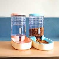 2 pièces/ensemble chat alimentation bols pour chien mangeoires automatiques chien distributeur d'eau fontaine bouteille pour chat bol alimentation et boire