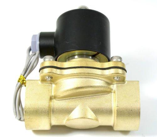 5 шт. g1'' оросительной воды Латунные клапаны соленоидов 2W250-25 AC 220 В