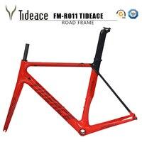 2017 tideace אופניים פחמן Aero מסגרת פחמן אופני כביש מסגרת כביש אופני פחמן לאופני כביש יכול להיות מותאם אישית
