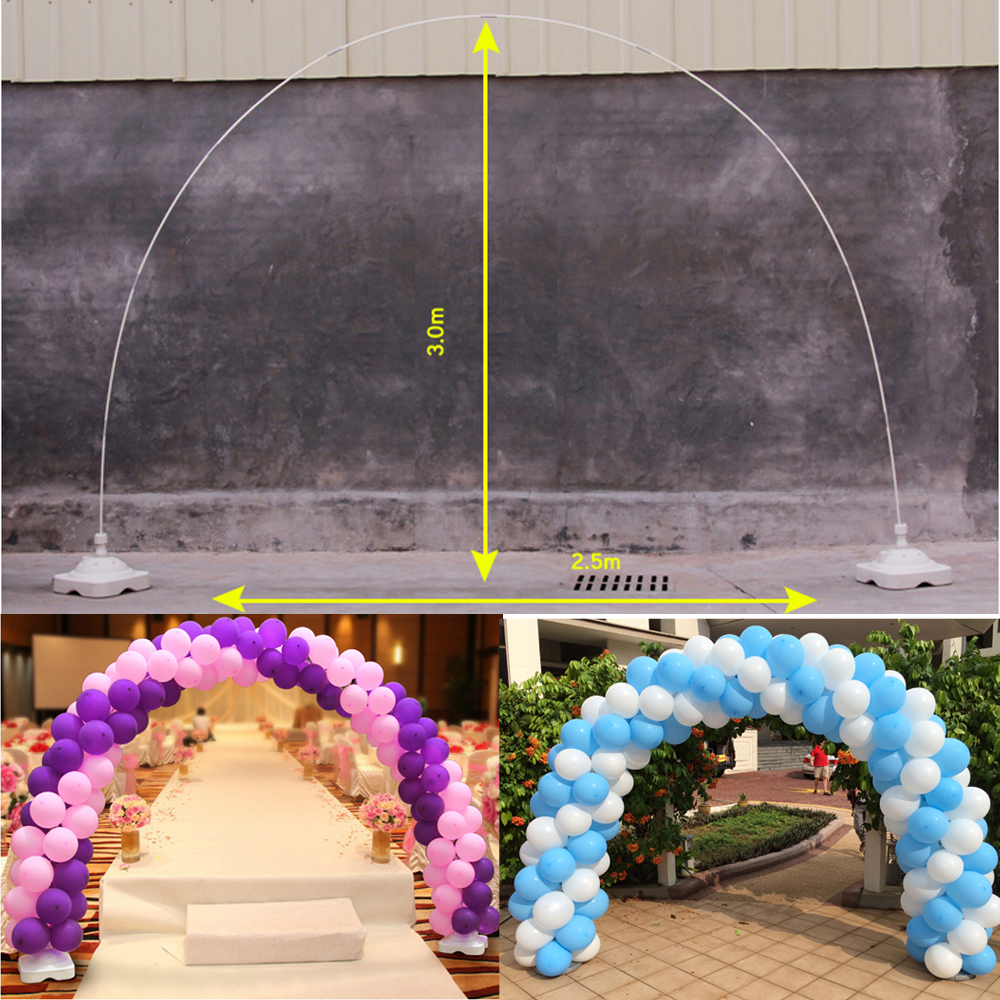 3m x 2.5 m Balloon Arch For Wedding Party Event Venue Decoration
