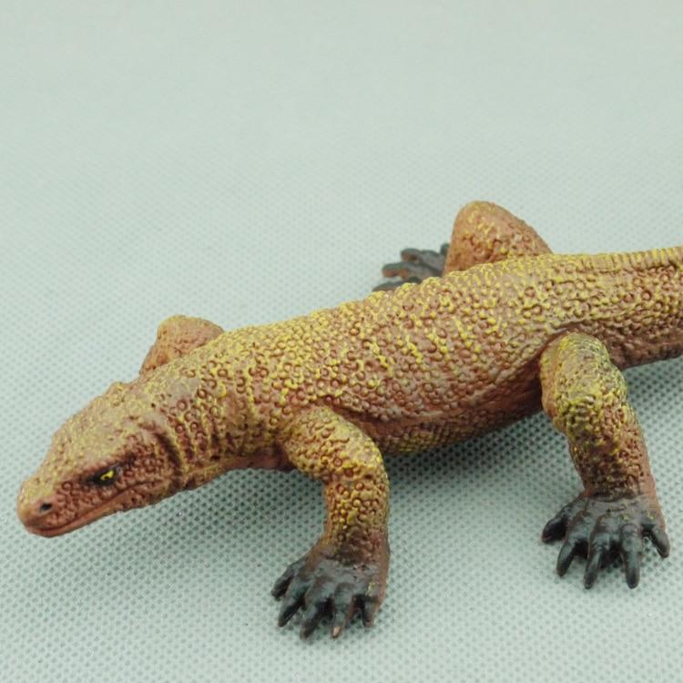 Free shipping wildlife toy model Indonesia the komodo dragon Komodo lizard Komodo dragons Animal models komodo national park