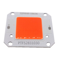 12V 50W Full Spectrum 400-840NM LED COB chip, Integrated Smart IC Driver led cob 50w 220v waterproof driver free ic driver full spectrum to promote plant growth lamp with u slot type reflective groove