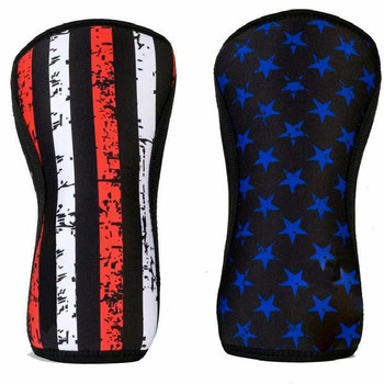 7mm Knee Sleeves for Weightlifting (1 Pair) Premium Support and Compression