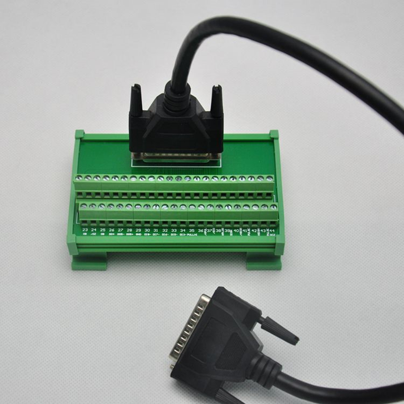 ASD-MDDS44 Terminal station 44pin with 1m CN1 cable for Delta ASDA-B2 servo motor driver new original delta servo driver 200w 0 2kw 1 phase asd b2 0221 b spot