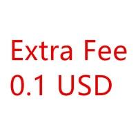 Extra Fee 0.1USD-NO Product
