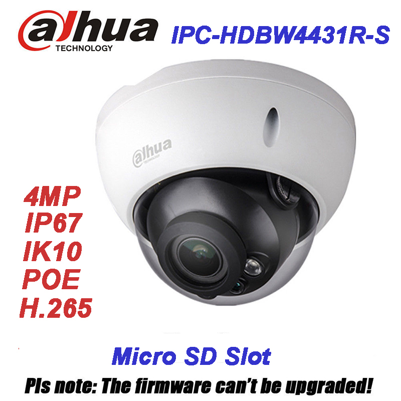 Original Dahua 4MP IPC-HDBW4431R-S replace IPC-HDBW4421R IP Camera HD Network IR cctv Dome IP CCTV Camera POE DH-IPC-HDBW4431R-S new 7 85 7 9 inch tablet touch screen fpc cy080066 00 cy080066 00 touch panel digitizer glass sensor replacement free shipping