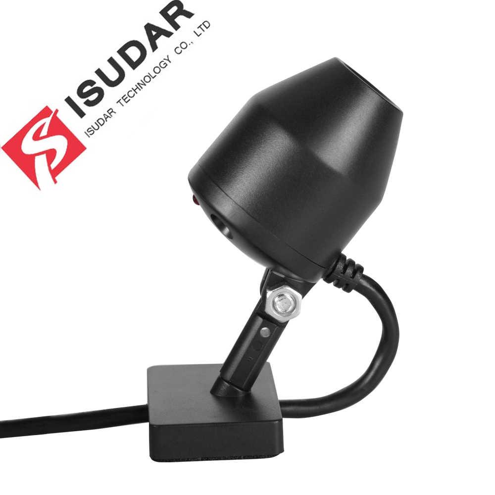 Isudar автомобильный Фронтальная камера видео регистратор DVR для камер видеонаблюдение, поддержка 32 ГБ для с двумя камерами, Процессор ROCKCHIP Android 7,1 8,0 автомобильный мультимедийный плеер gps