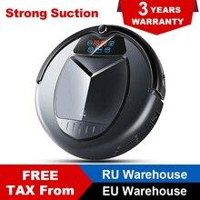 LIECTROUX B3000 робот-пылесос, Сенсорный экран, Авто-зарядка, Расписание, аккумулятор, виртуальный блокатор, сенсорный экран, фильтр HEPA,виртуальная стена,гарантия,для дома