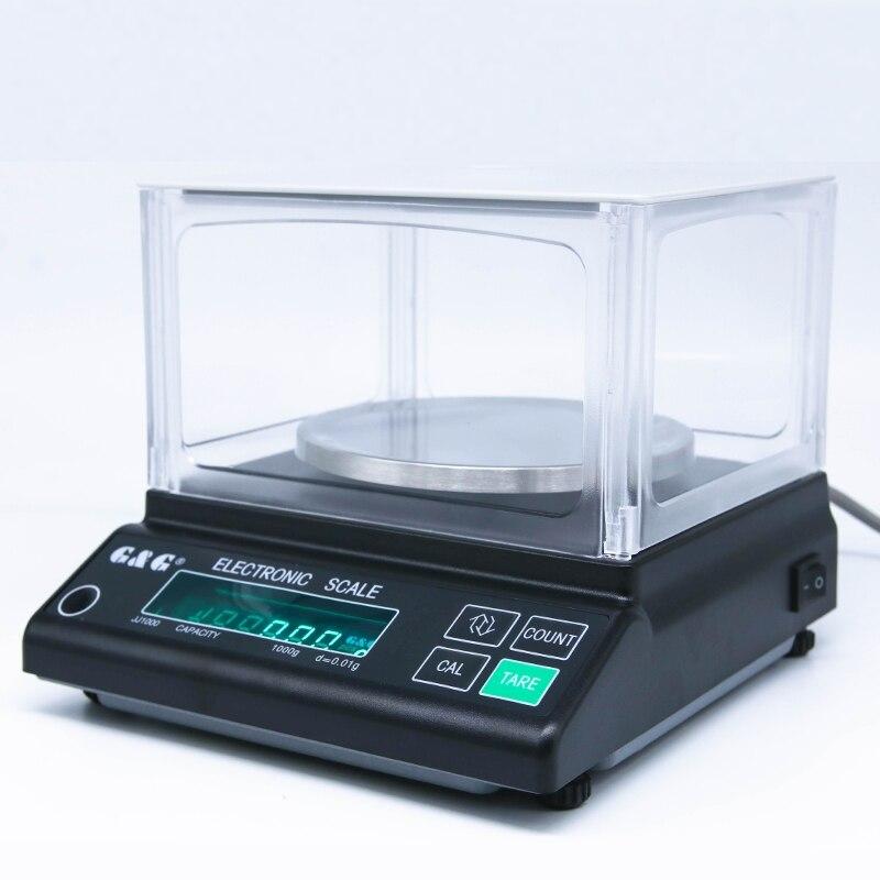 Lab Analytical Balance 0.01g 200g Precision Digital Scale