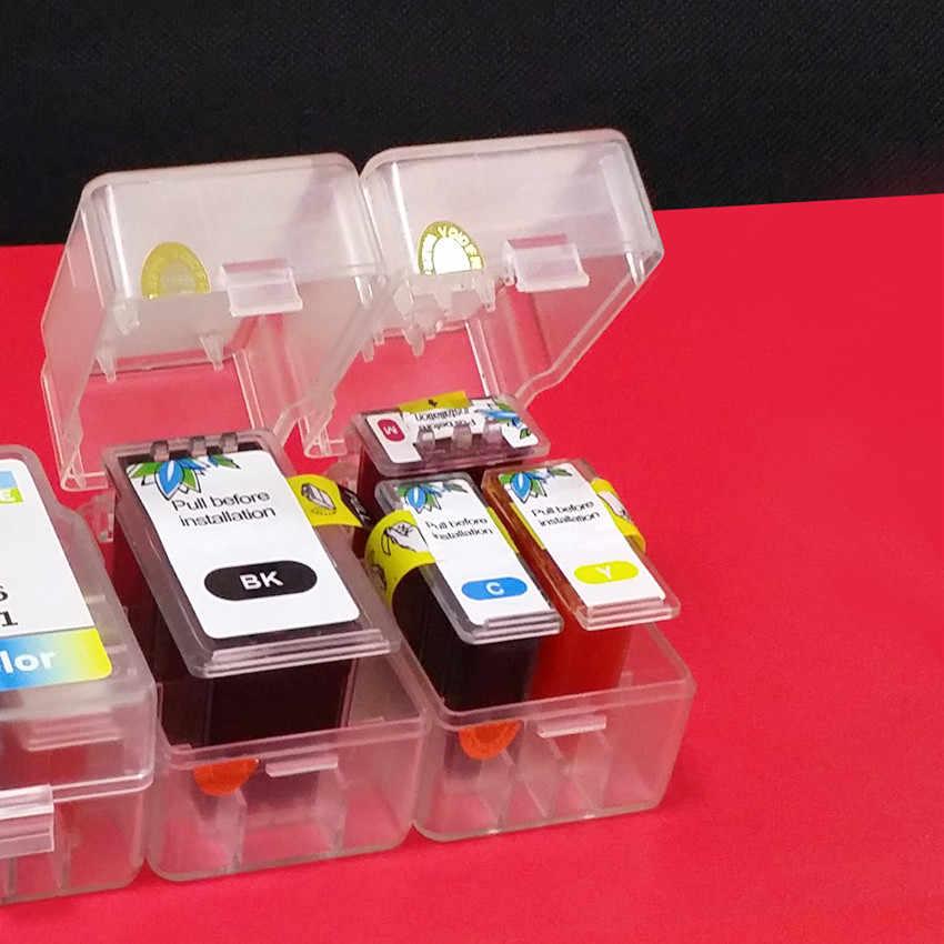 DIY Isi Ulang Kit Untuk Canon PG 540 CLI 541 Tinta Cartridge MG4250 MX375 MX395 MX435 MX455 MX475 MX515 MX525 MX535 TS5150 TS5151 Cetak