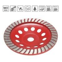 180mm 7 Diamond Segment Grinding Wheel Sanding Disc Sander Grinder Cup Abrasive Tools 22mm Hole For