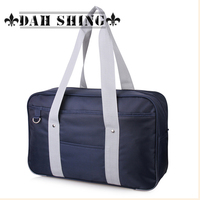 Sweet candy preppy Japan style Oxford fabric uniform student handbag shoulder bag school messenger bag 42*26cm zipper closure
