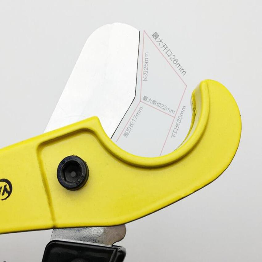 Aukštos kokybės PVC vamzdžių pjaustytuvas, 25 mm aliuminio - Rankiniai įrankiai - Nuotrauka 3