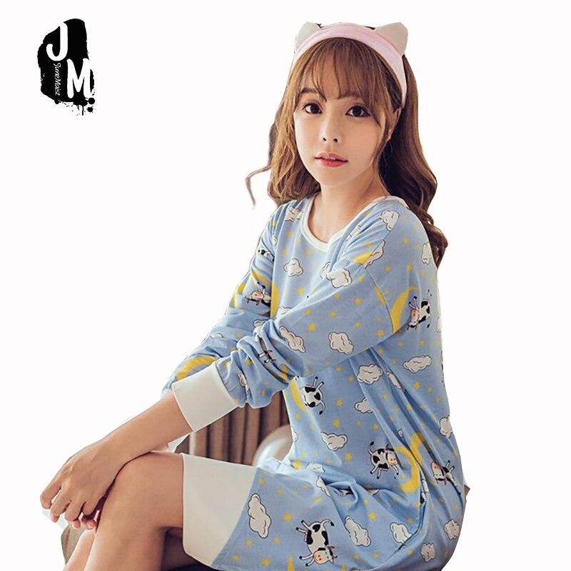 2017 New Arrival Liva Girl 100% Cotton   Nightgowns     Sleepshirts   Casual Homewear Loose Sleepwear Dress For Girls