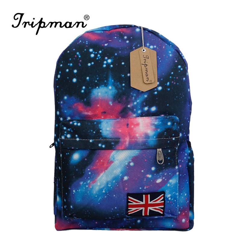 Multicolor Galaxy Backpack Female Star Universe Space Printing School Bags for Women Schoolbag Canvas Backpack Mochila Feminina