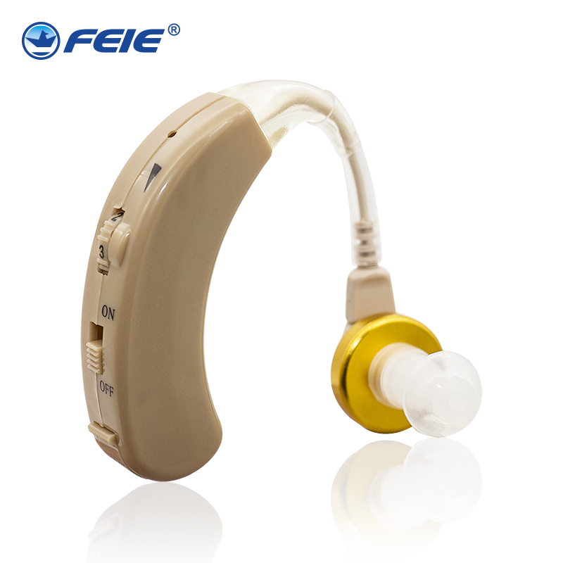 FEIE øreforstærker aparat analog krog høreapparat hjælper øret lytter S-520 justerbar tone Sound Enhancer Medicinsk udstyr