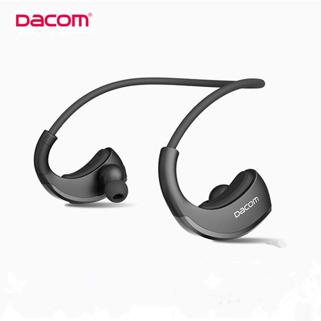 DACOM Armor G06 Auriculares Inalámbricos Deporte Impermeable IPX5 Bluetooth V4.1 Estéreo Binaural Auriculares Auricular con el Mic Para el iphone LG