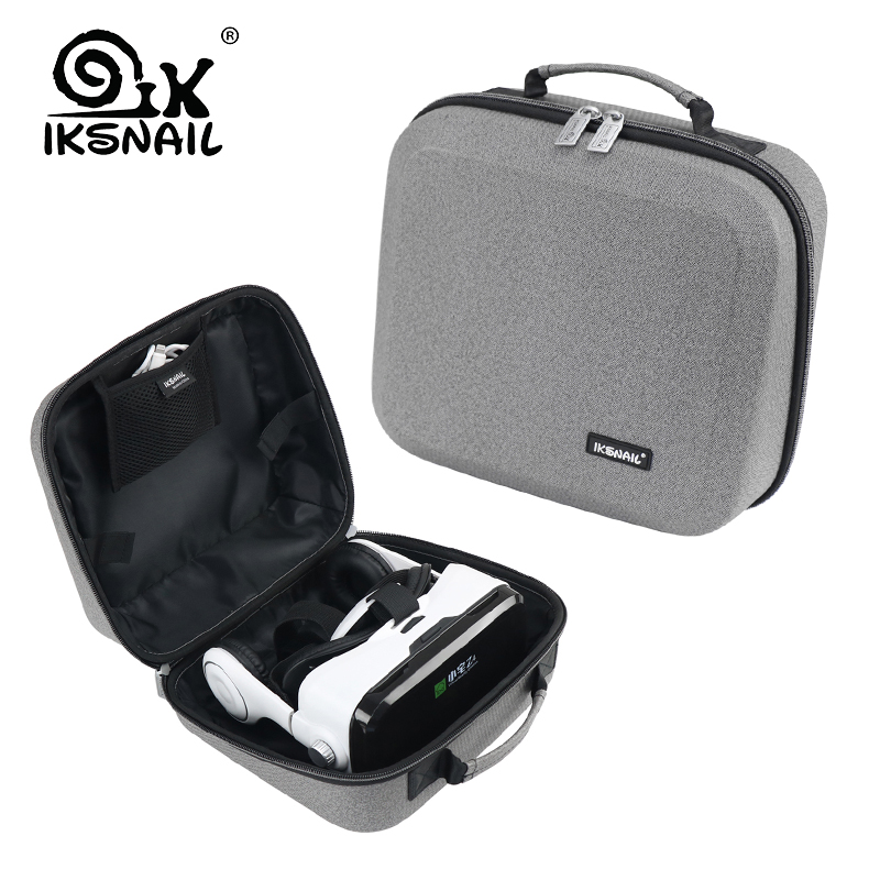 IKSNAIL New Game Waterproof Portable Case Hard Carrying Travel Bags Storage Box For BOBOVR Z4 font