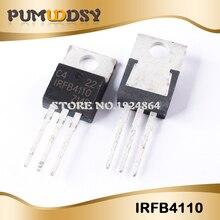 50 pezzi IRFB4110 FB4110 B4110 IRFB4110PBF TO 220 IC