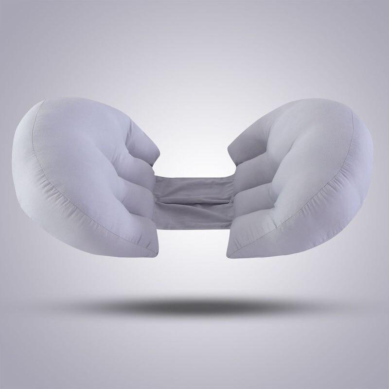 Многофункциональные u-образные подушки для беременных женщин поддержка живота боковые шпалы Мягкая Подушка для беременных хлопок - Цвет: 10