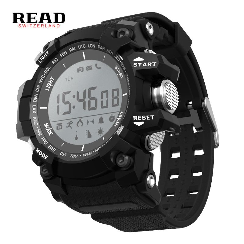 READ X2 Smart watch Step counter Air pressur Stopwatch Remote camera Bluetooth Wearable Devices Weather Sport IOS Android все цены