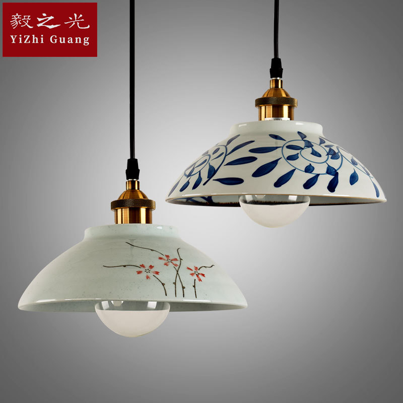 style lamps and lanterns of led lamp droplight manual coloured drawing or pattern the sitting room dining-room lamp
