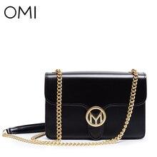 OMI женская сумка женская натуральная кожа сумки женские сумки известный дизайнер бренда сумки роскошь День Муфты лоскут Сумка