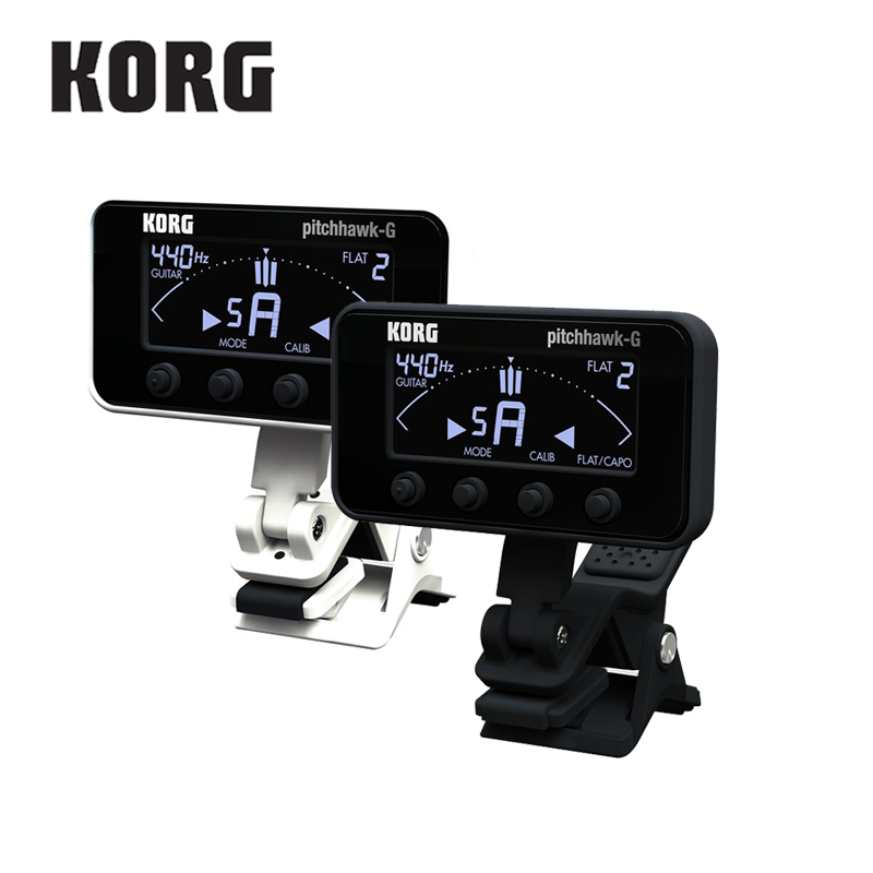 KORG Pitchhawk Clip On Tuner Chromatic Guitar and Bass Tuner korg pa900