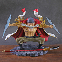 ONE PIECE Edward Newgate Four Emperors Whitebeard Pirates Major naval event SD Resonance PVC Action Figure Collectible Model Toy