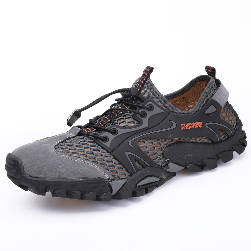 Traceable Shoes Men's Outdoor Water Wading Foreign Trade Outdoor Cross-country Shoes Summer Shoes  Sandals Woman Beach