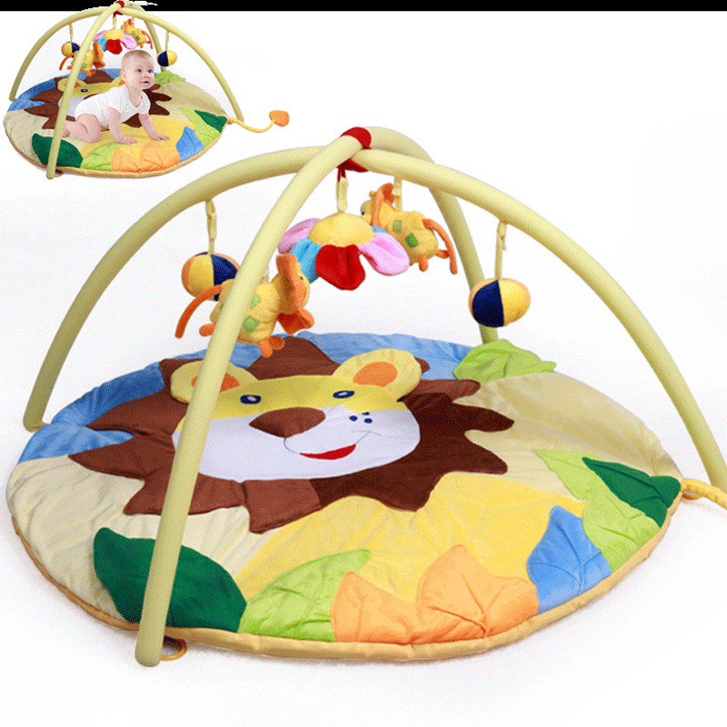 Infant Baby Play Gym Mat Fitness Crawling Pad Baby Activity Rug Carpet Bear Kids Magic The Gathering Playmat Toys Bundle цена 2017